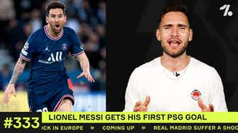 Preview image for REACTION to Messi's FIRST PSG goal!