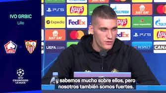 """Imagen de vista previa para  Ivo Grbic: """"El partido con Sevilla es importante para Francia"""""""