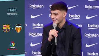 Imagen de vista previa para Pedri le otorgaría el Balón de Oro a Messi