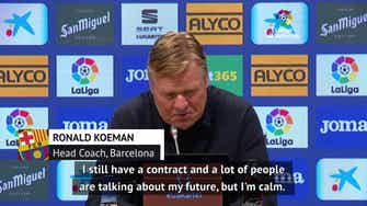 Preview image for 'This isn't my last game' - Koeman confident over Barca future