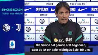 """Vorschaubild für Inzaghi: """"Viele Juve-Spieler können uns wehtun"""""""