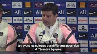 """Image d'aperçu pour Classique - Pochettino : """"Gagner un derby est essentiel"""""""