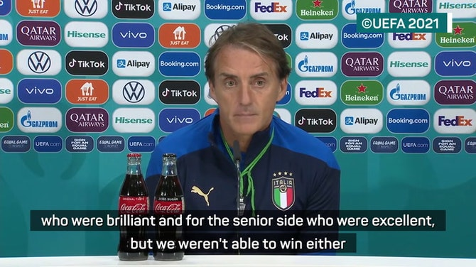 Preview image for Mancini seeking elusive joy with Azzurri after frustrations as a player