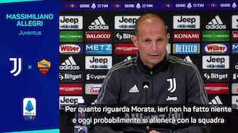 """Anteprima immagine per Allegri: """"Dybala out, Morata in forse"""""""