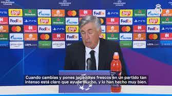 Imagen de vista previa para Carlo Ancelotti: 'Este equipo no solo tiene calidad, también tiene compromiso'