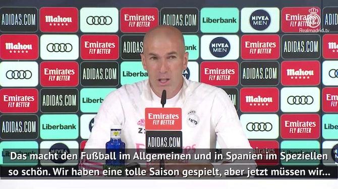 Vorschaubild für Zidane: Darum wird Real am Ende Meister