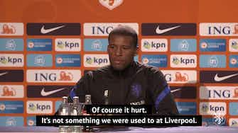 Preview image for Wijnaldum keen to move on from Liverpool defeat with Netherlands