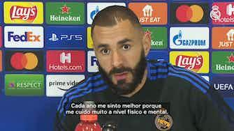 """Imagem de visualização para Benzema sobre Real na Champions: """"Não estamos atrás de nenhuma equipe"""""""