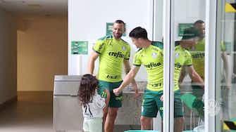 Imagem de visualização para Weverton e Piquerez de volta aos treinos no Palmeiras