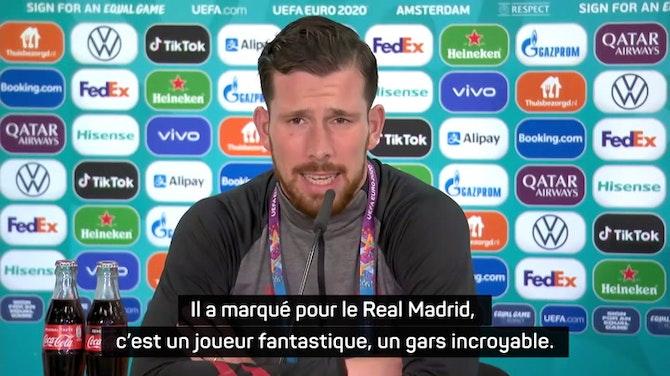 """Image d'aperçu pour 8es - Hojbjerg : """"Bale est l'un des meilleurs joueurs avec qui j'ai joué"""""""