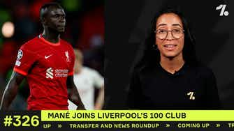 Preview image for Mané joins Liverpool's 100 club!