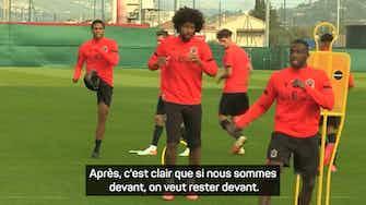 """Image d'aperçu pour Nice vs Marseille - Dante : """"Garder notre identité, ne rien lâcher"""""""