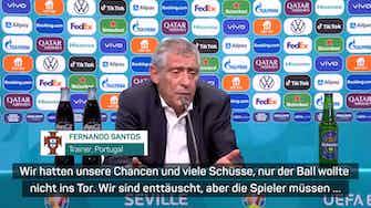 """Vorschaubild für Santos: """"Keine Mannschaft besser als Portugal"""""""