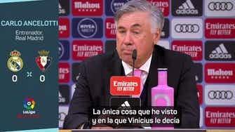 """Imagen de vista previa para Ancelotti: """"Me pueden decir que estoy loco, pero el equipo me ha gustado mucho"""""""