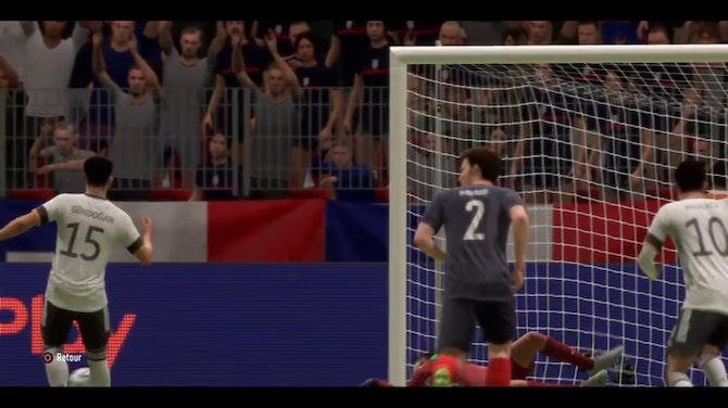 L'incroyable France - Allemagne sur FIFA 21 !