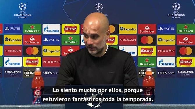 """Guardiola: """"Hemos invertido mucho dinero, pero hay mucha gente trabajando detrás"""""""