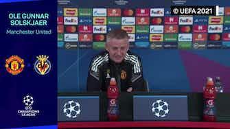"""Imagen de vista previa para Solskjaer: """"No va a ser fácil, pero tampoco va a ser fácil jugar contra Cristiano"""""""