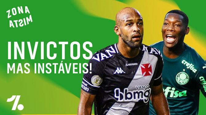 Imagem de visualização para Vasco, Grêmio, Palmeiras e Botafogo continuam invictos... Até quando? | 5ª Rodada do Brasileirão!