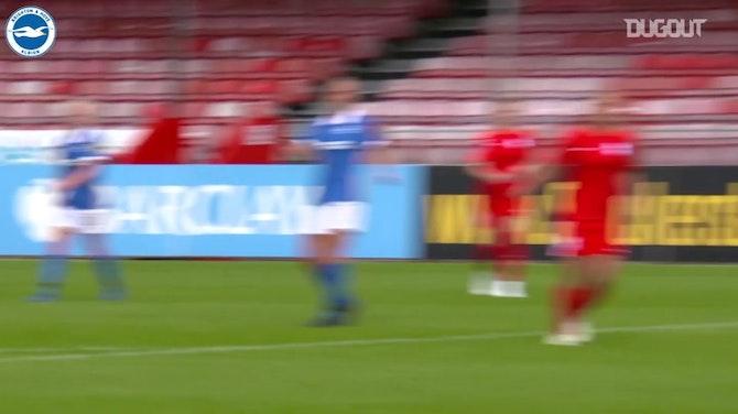 Melhores gols do time feminino do Brighton em 2020