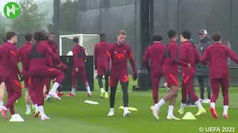 Image d'aperçu pour Liverpool prépare le match de l'Atlético Madrid