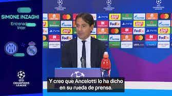 """Imagen de vista previa para Inzaghi: """"No olvidemos que jugamos contra el Real Madrid"""""""