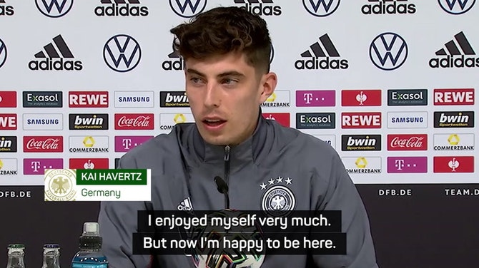 Havertz ready to push on after Champions League glory