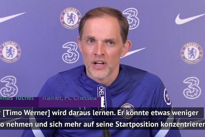 """Tuchel: Werner """"könnte weniger Risiko nehmen"""""""