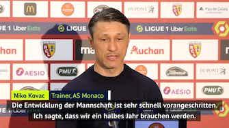 Vorschaubild für Kovac: Das hat uns in die Champions League gebracht