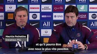 """Image d'aperçu pour 5e j. - Pochettino sur Mbappé : """"On espère que ce n'est pas grave"""""""