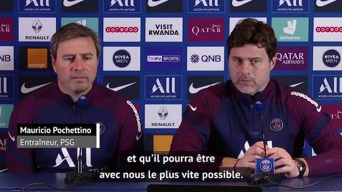 """5e j. - Pochettino sur Mbappé : """"On espère que ce n'est pas grave"""""""