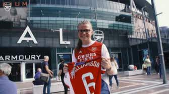 Preview image for Behind the Scenes: Arsenal's opening day WSL win over Chelsea