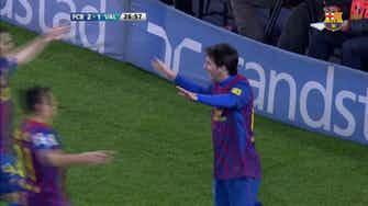 Preview image for Leo Messi incredible four goals against Valencia