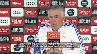 Imagem de visualização para Ancelotti elogia atitude do Real Madrid em começo da temporada