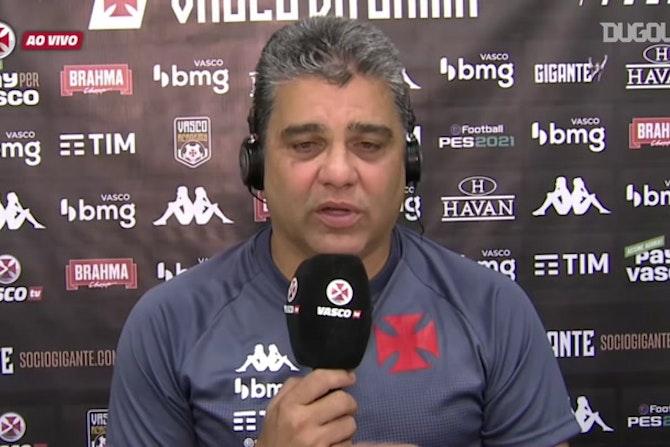 Marcelo Cabo comenta as boas adaptações do Vasco no clássico