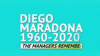 Preview image for Diego Maradona - the managers remember