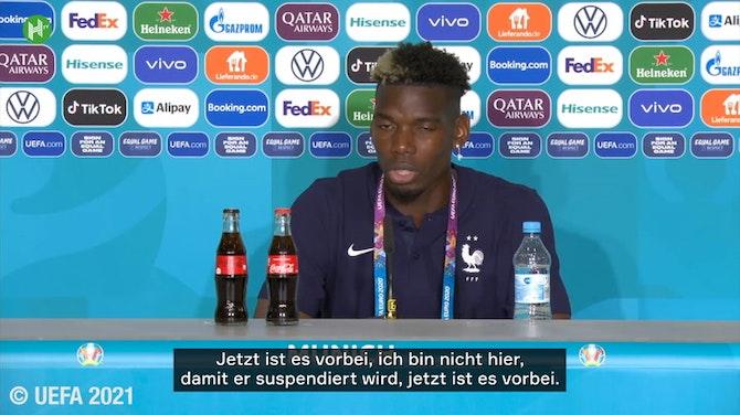 Pogba über den Rüdiger-Biss: 'Ich will nicht, dass er suspendiert wird'