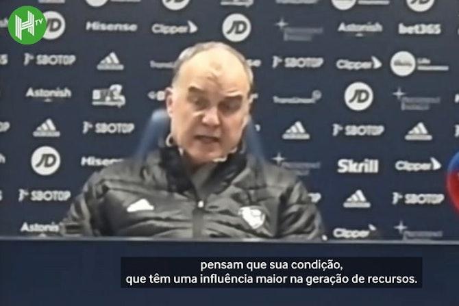 """Bielsa critica criação da Superliga Europeia: """"o futebol é de todos"""""""