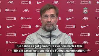 Vorschaubild für Klopp: Habe Gündogan und Guardiola gratuliert