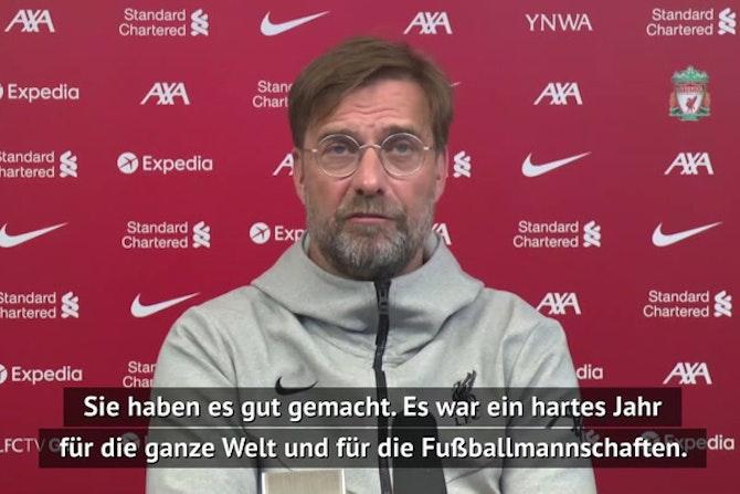Klopp: Habe Gündogan und Guardiola gratuliert