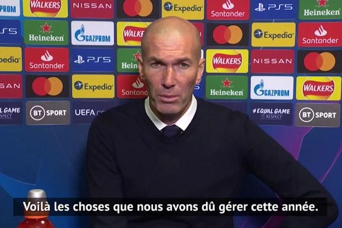 """Demies - Zidane : """"Continuer à nous battre"""""""