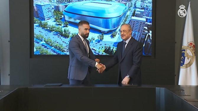 Vorschaubild für Daniel Carvajal renews contract until 2025