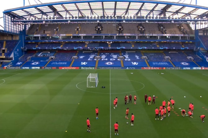Real Madrid training Pre Chelsea HD ©️UEFA 2020