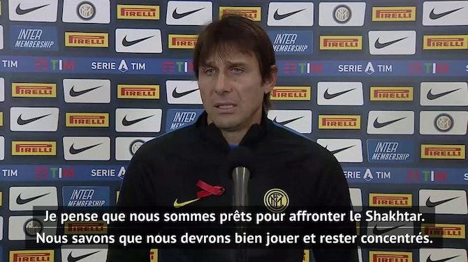 """Groupe B - Conte : """"Nous sommes prêts pour le Shakhtar"""""""