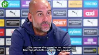 Preview image for Guardiola ahead of Chelsea clash: 'A final is completely different'