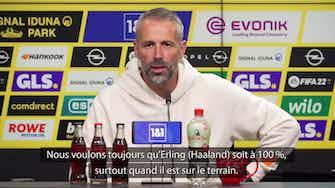 """Image d'aperçu pour Dortmund - Rose : """"Attention à ne pas épuiser les joueurs"""""""