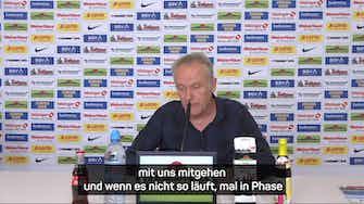 """Vorschaubild für Streich hofft auf """"positiven"""" Stadion-Abschied"""