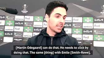 Preview image for  Excited Arteta urges his team to take risks more often