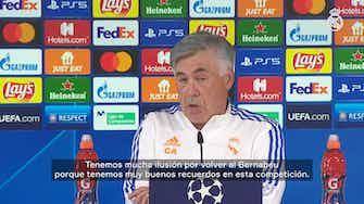 Imagen de vista previa para Carlo Ancelotti: 'Hay que meter máxima concentración en el partido'