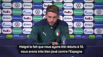 """Image d'aperçu pour Finale 3e place - Berardi : """"Je n'ai pas regardé Courtois sur mon penalty"""""""