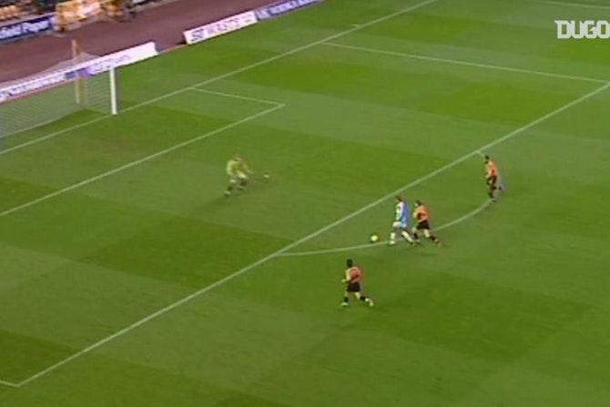 Bobby Zamora's chip opens scoring against Wolves